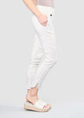 Savanna Pattern 28'' Ankle Pant With Pockets