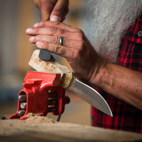 make your own pocket knife by Man Crates