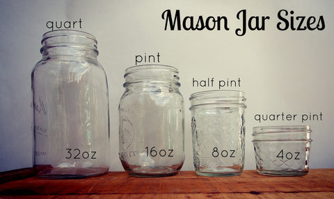 Eco Flower buys pint size mason jars in Ogden, UT