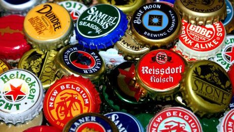 Eco Flower buys beer bottle caps in Ogden, UT