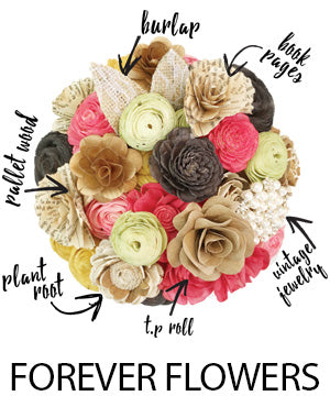 Eco Flower - Wood Flowers order online