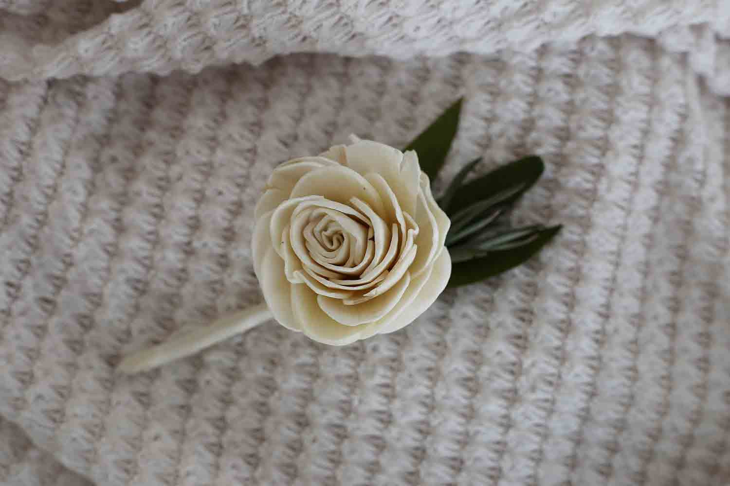 Greek Goddess Boutonnière