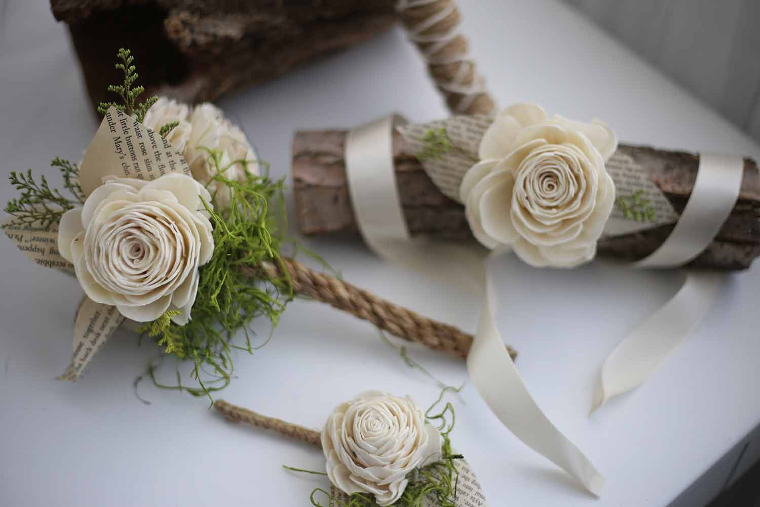 Boho Lily Bridal Package