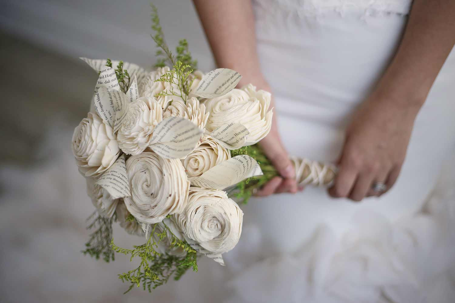 Boho Lily Bridal Bouquet