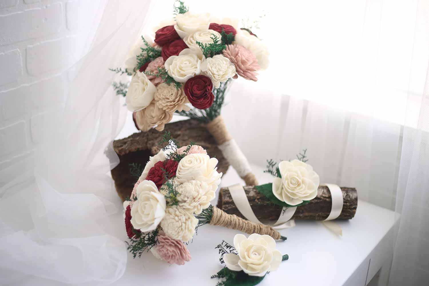 Marsala Bridal Package