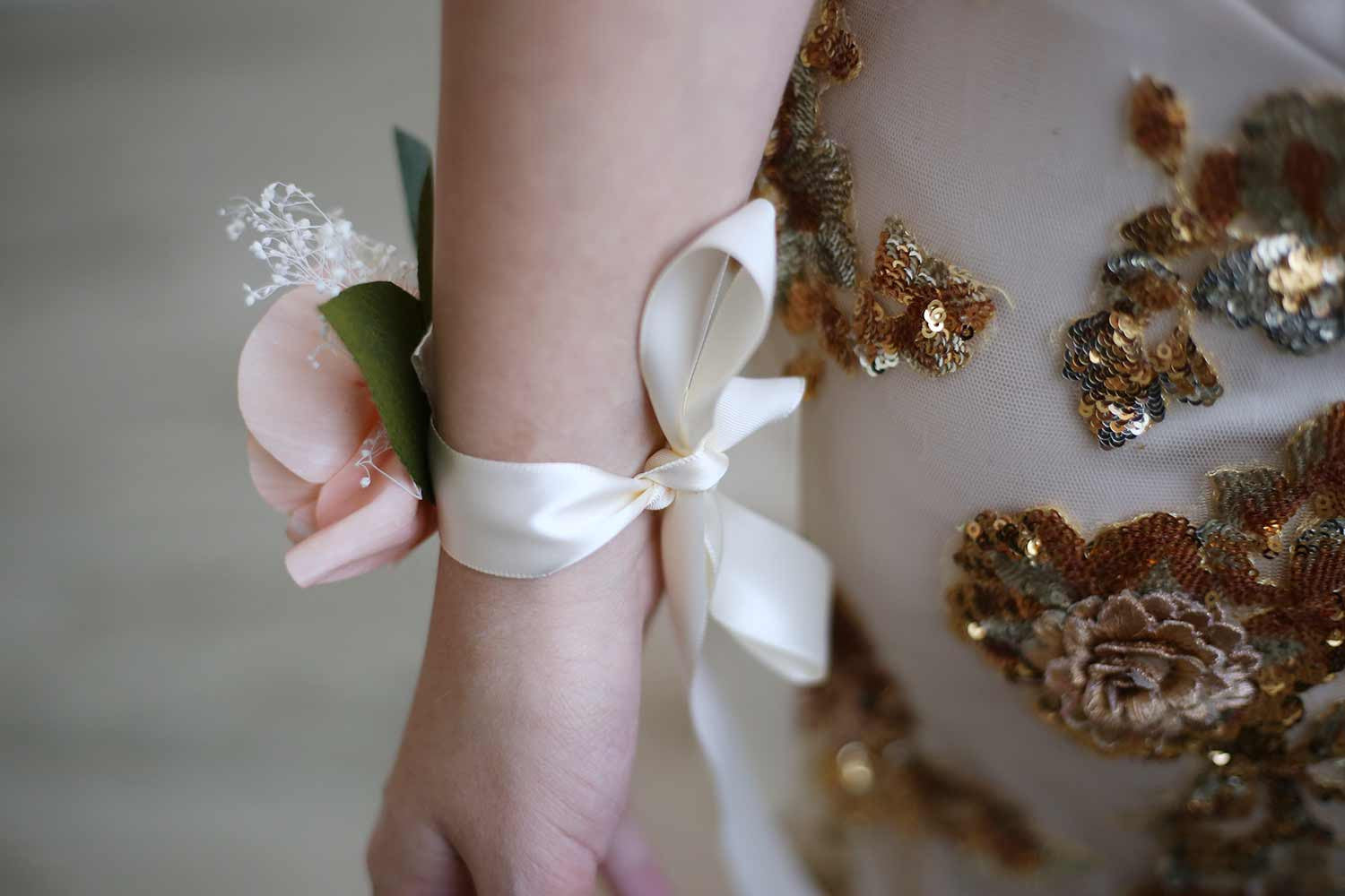 Caribbean Sunset Corsage