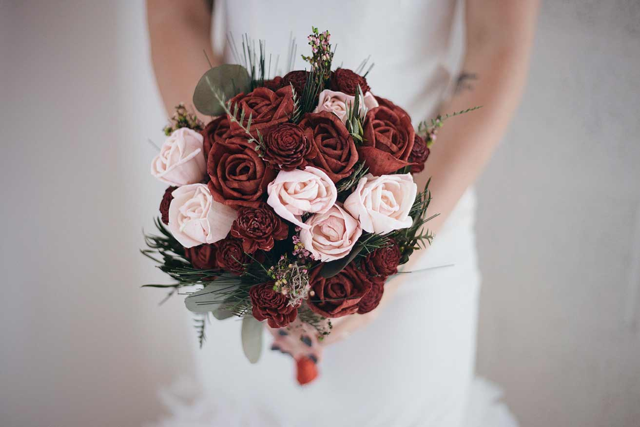 The Vineyard Bridal Bouquet