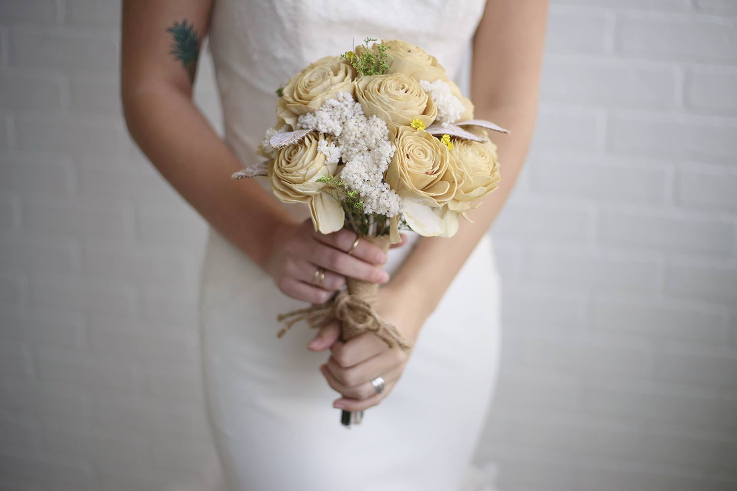 Limoncello Bridal Bouquet