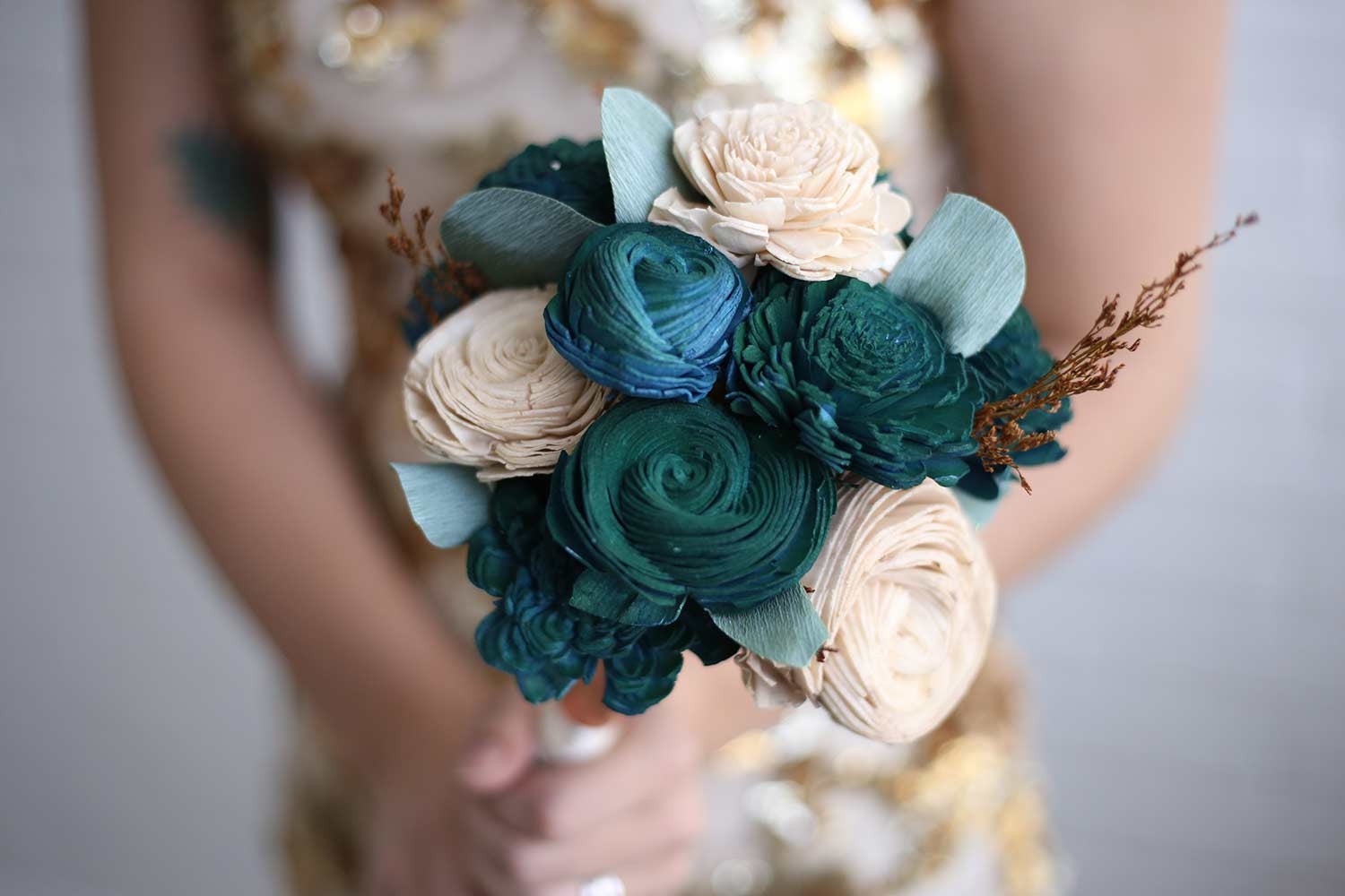 Persian Desert Bridesmaid Bouquet