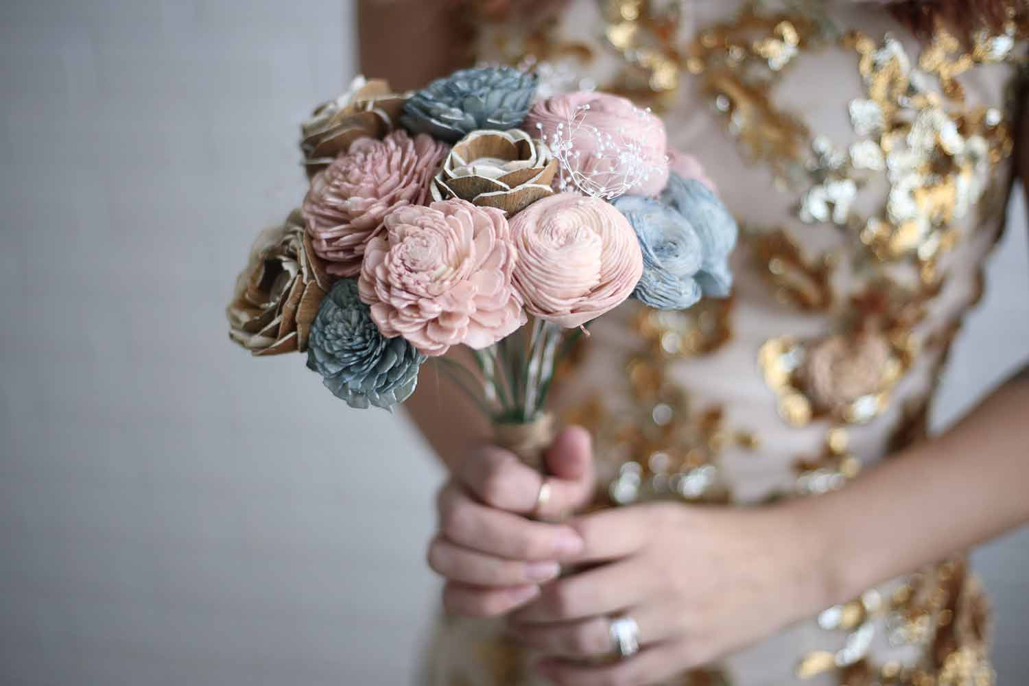 Rustic Bridesmaid Bouquet
