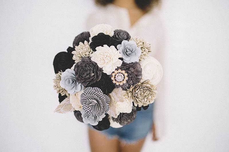 I Love Lucy - Eco Flower - faux flowers - gift - wedding flowers