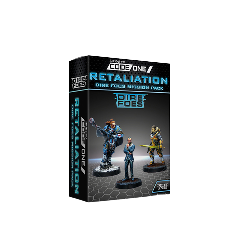 Dire Foes Mission Pack Alpha: Retaliation Convention