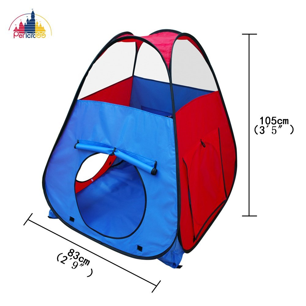 Heavy Duty Play Tent Play Tunnel Ball Pit Combo Designed to Connect