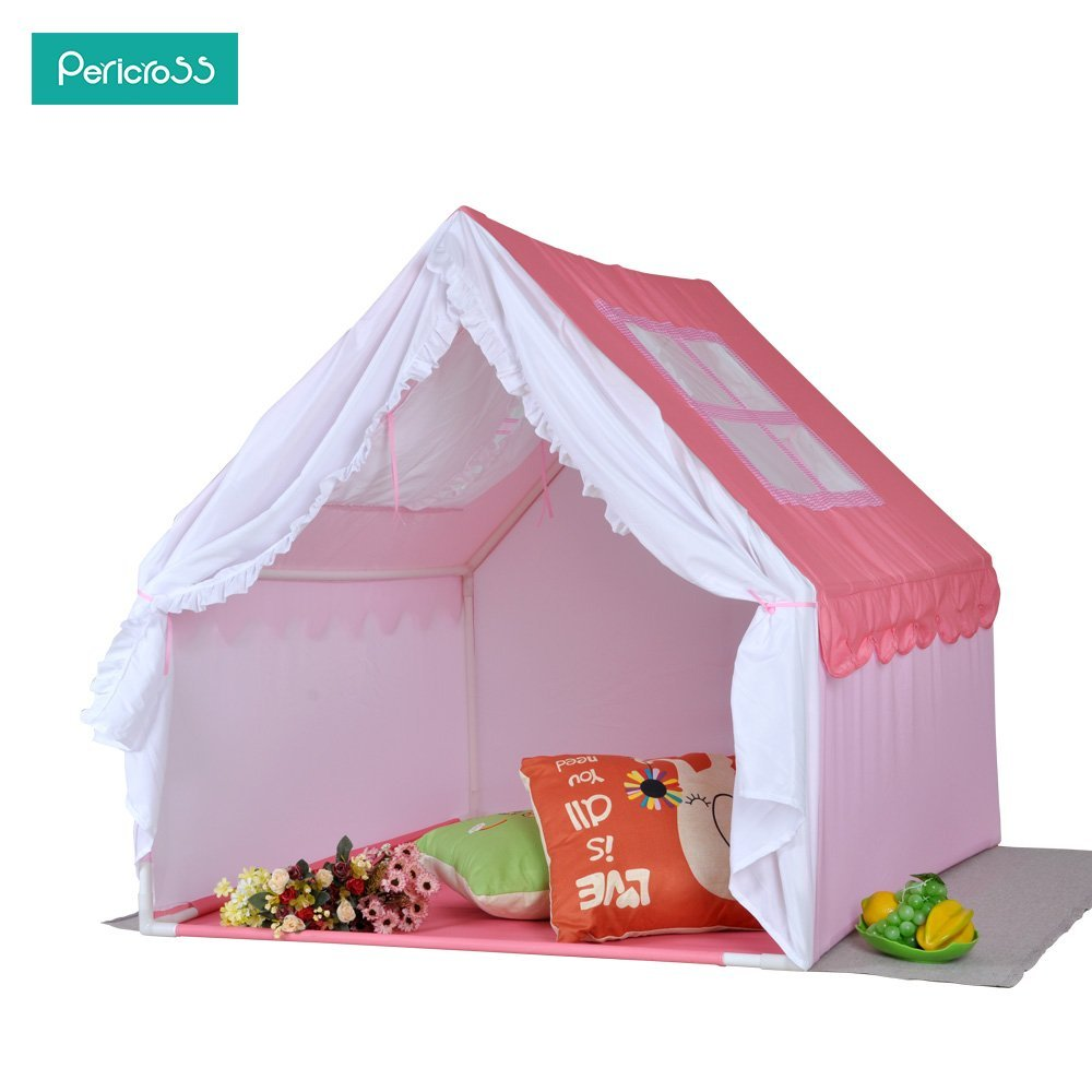 Pericross Princess Style Castle Tents Large Space Kids Cottage Playhouse  sc 1 st  Pericross & Pericross Princess Style Castle Tents Large Space Kids Cottage ...