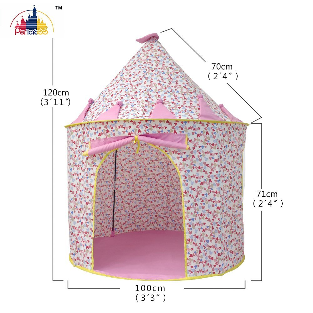 Pericross Kids Playhouse Cotton Fabric Play Tents