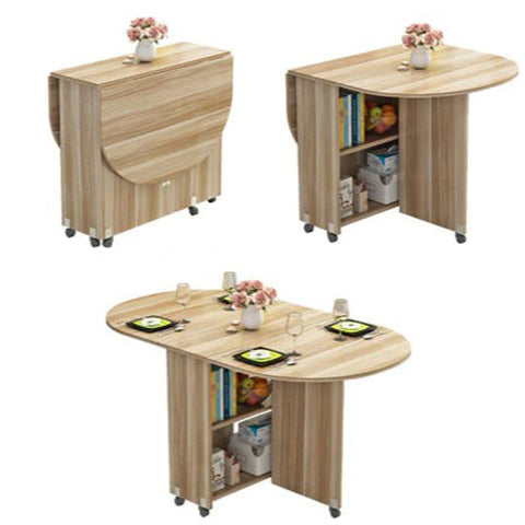 3 in 1 solid wood kitchen table