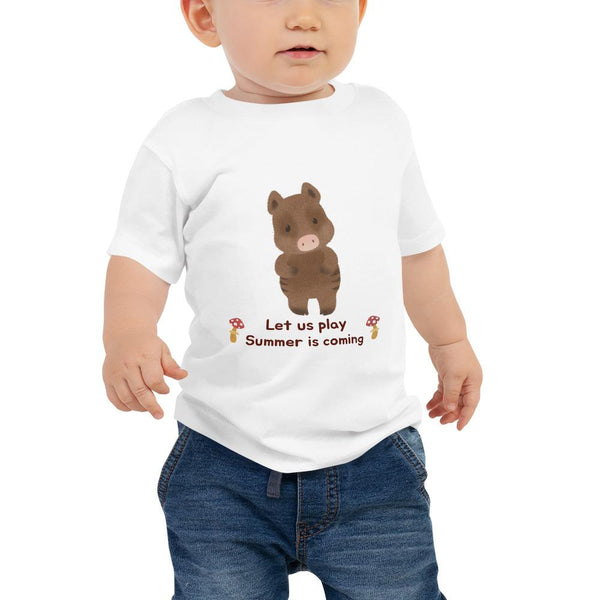 summer is coming baby t-shirt