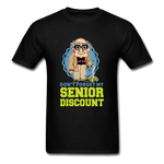 Senior Discount T-Shirt for Men - black