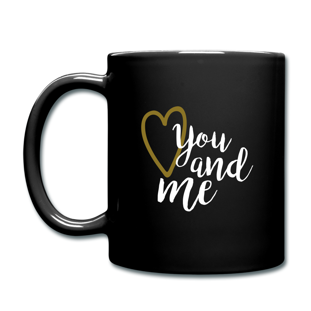 Full Color Mug (Multicolor) - You and Me - black