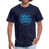 Unisex Classic T-Shirt - Will you be my Valentine? - navy