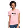 Women's T-Shirt - I Love You Infinite - pink