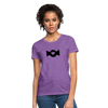 Women's T-Shirt - Candy Heart - purple heather