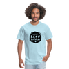 Men's Classic T-Shirt - World's best Boyfriend - powder blue