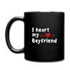 Full Color Mug - I heart my boyfriend - black