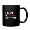 Full Color Mug - I heart my girlfriend - black