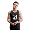 Men's Premium Tank - Wolf Bros - black