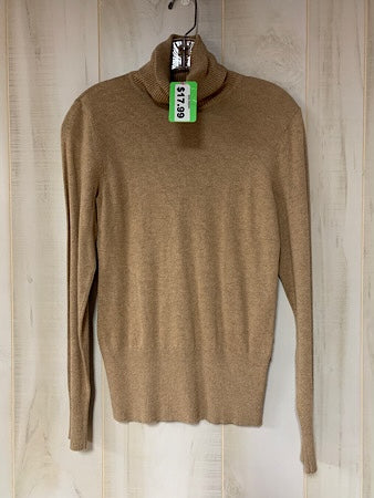 Apt 9 camel brown turtleneck sweater sz S