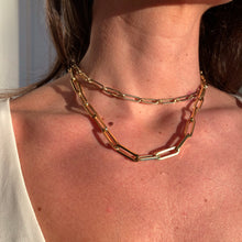 Load image into Gallery viewer, Jumbo Paperclip Chain Necklace