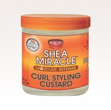 African Pride Shea Miracle Curl Styling Custard 12oz