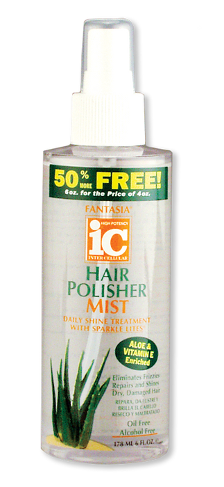 Fantasia IC Hair Polisher Spray On Mist 6oz