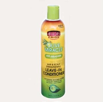 African Pride Olive Miracle Leave-In Conditioner 12 fl.oz.
