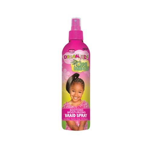 African Pride Dream Kids SOOTHING BRAID SPRAY OLIVE MIRACLE