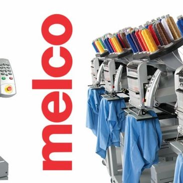 Melco Embroidery Machine, Embroidery, First Pass Apparel Embroidery