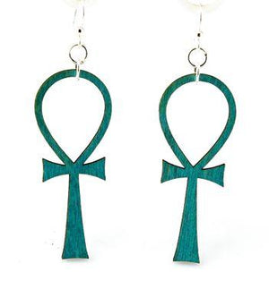 Ankh Earrings # 1151