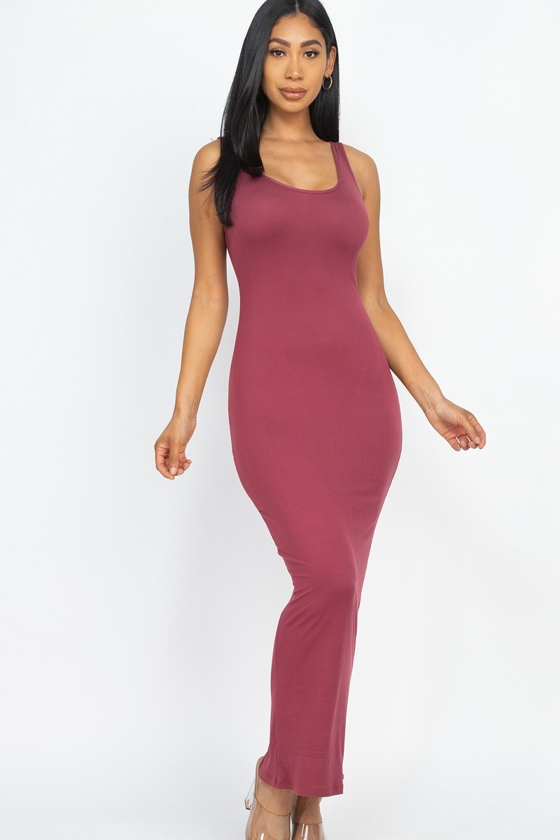 Solid Basic Maxi Dress