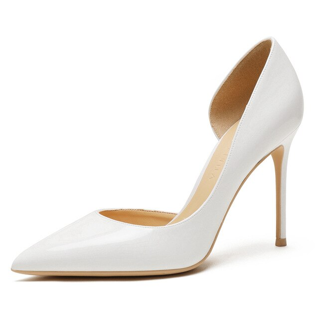 Super Thin High Heel Pointed Toe Stiletto Pumps