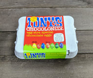 Tony's Chocolonely mini Easter eggs (box of 12)