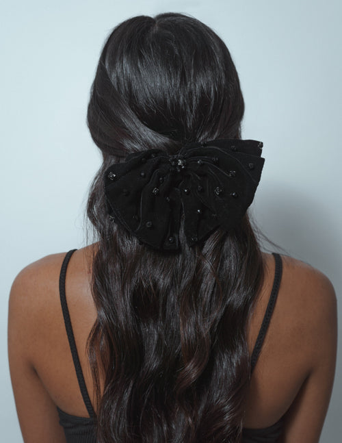 Lily French Barrette Bow