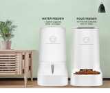 Automatic Pet Food & Water Feeder