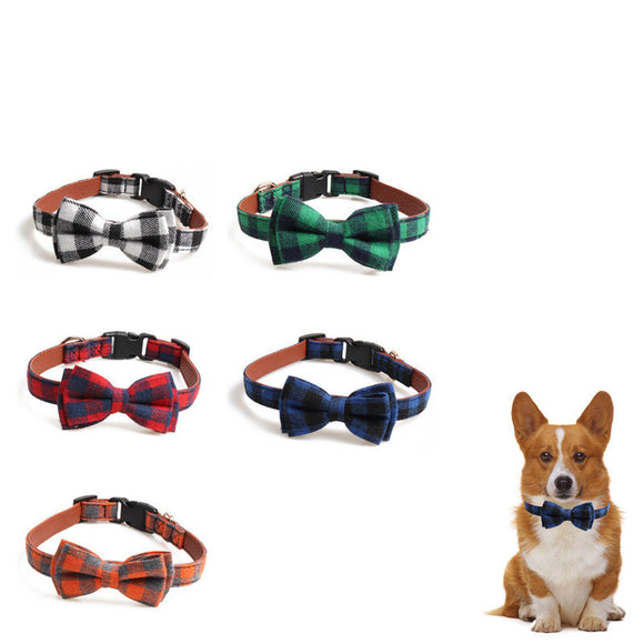 British Plaid Collar