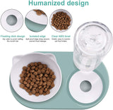 Feeding Bowl With Automatic Water Dispenser
