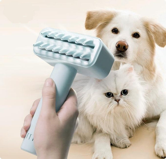 Compact Wireless Electric Pet Comb