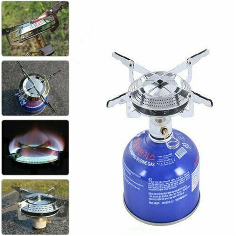 Portable Camping Hiking Gas Heater Stove Cooker