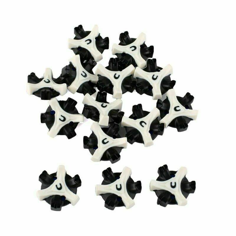 14 pcs Tri-Lok Golf Shoe Spikes Replacement Fast Twist Champ Cleat for Footjoy
