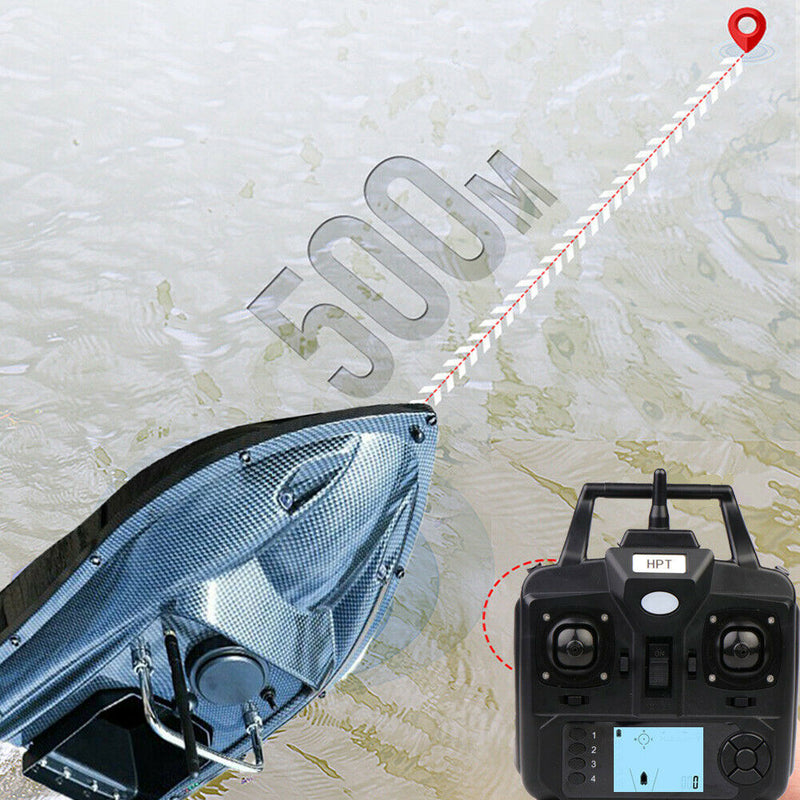 VERY100 500M Wireless GPS Fishing Bait Boat+Fishfinder+Handbag+Batteries