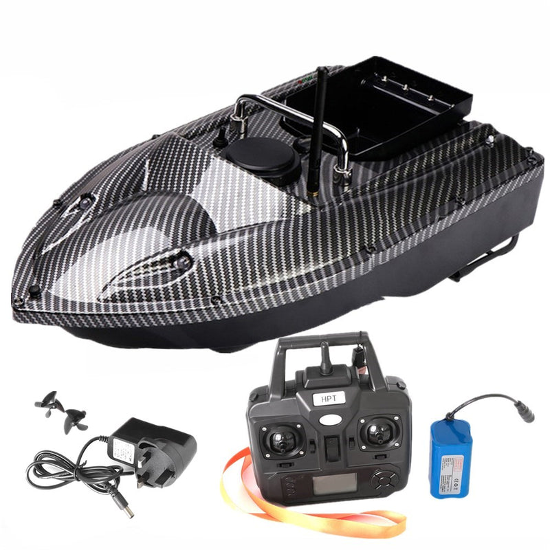 VERY100 500M RC GPS Bait Boat Carp Fishing Boat with Handbag